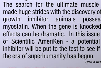 Can an easily purchased supplement be the next breakthrough of humankind? Scientific AmeriKen Answers that question in this issue!