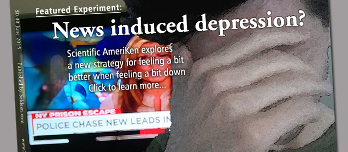The news getting you down? This experiment explores the impacts of avoiding the news on feeling down