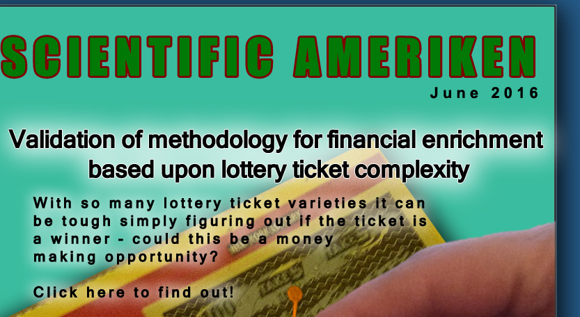 Is there a way to make easy money off the lottery? Maybe...